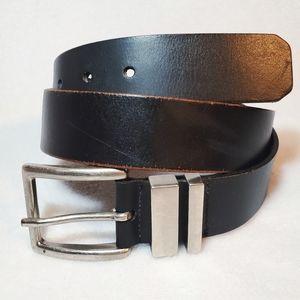 Men's Levi's Black Genuine Leather Belt Size 32